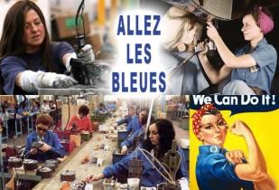 Allez les bleues